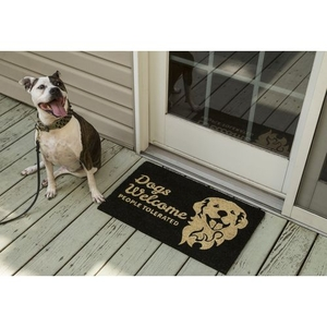 People Tolerated Coir Doormat with Backing