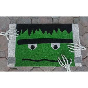 Frankenstein Coir Doormat with Backing
