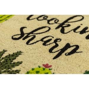 Looking Sharp Coir Doormat with Backing