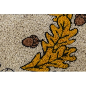 Oak Welcome Handwoven Coconut Fiber Doormat
