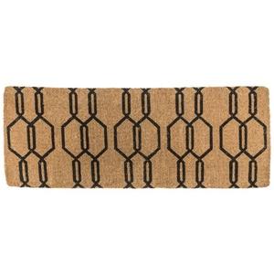 Gossamer 18x47 Extra - Thick Handwoven Coconut Fiber Doormat
