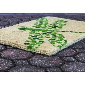 Dragonfly Handwoven Coconut Fiber Doormat