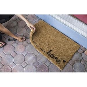 Home Handwoven Coconut Fiber Doormat