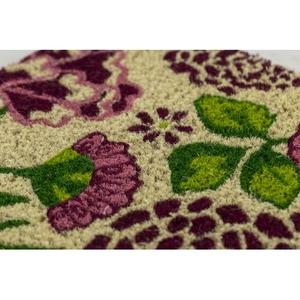 Summer Garden Handwoven Coconut Fiber Doormat