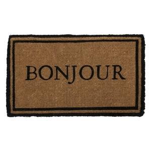 Bonjour Extra - Thick Handwoven Coconut Fiber Doormat