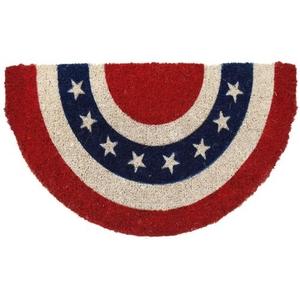 Americana Handwoven Coconut Fiber Doormat