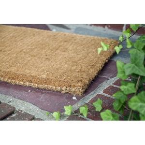Blank 18x30 Extra - Thick Handwoven Coconut Fiber Doormat