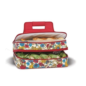 Floribunda Entertainer Hot & Cold Food Carrier