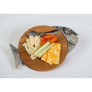 Fish Tropical Cheese Board