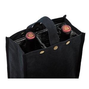 Black Silverado II Insulated Double Bottle Bag