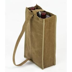 Tan Silverado II Insulated Double Bottle Bag