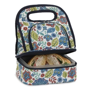 Blue Peacock Savoy Lunch Bag