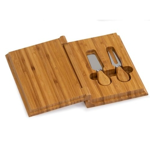 Bamboo Cheese Book Cheese Board