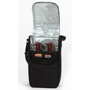 Black BYOB Double Bottle Wine Bag