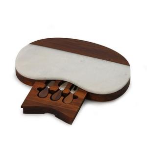 White Dozza Marble Board w/tools