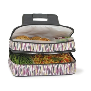 Brushstrokes Entertainer Hot & Cold Food Carrier