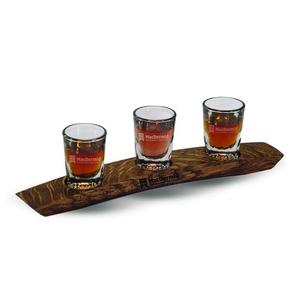 Wine barrel staves USA Whiskey/Scotch Flight-Walnut