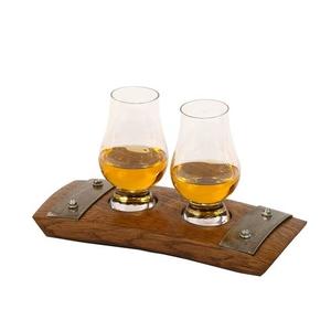 Walnut USA Double Glencairn Whiskey Set