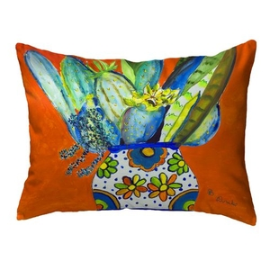 Potted Cactus Small Noncorded Pillow 11x14