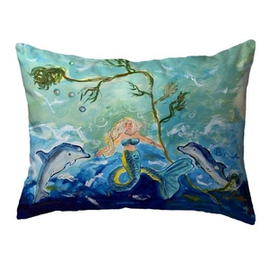 Queen of the Sea Large Noncorded Pillow 16x20