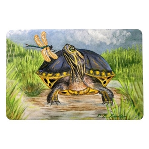 Dragonfly to Turtle Small Door Mat