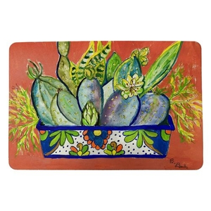 Cactus in Planter Small Door Mat