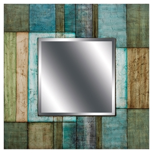 Color Block Mirror