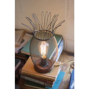 Metal Pineapple Lamp