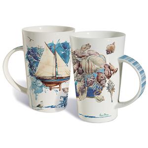 Coastal Impressions Mug Set Of 2