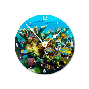 Coral Jetty Wall Clock