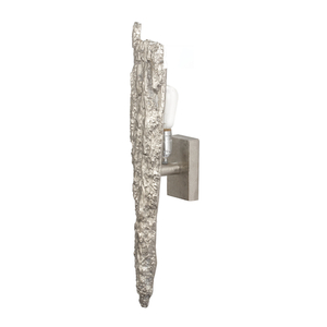Silver Bark Wall Sconce