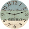 Personalize Beach Clock