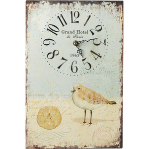 Shorebirds Rectangular Clock