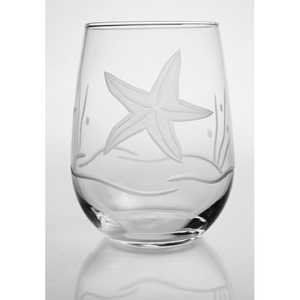 Starfish Stemless Tumbler Set of 4