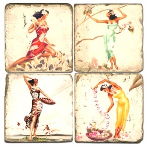 Island Woman Coasters