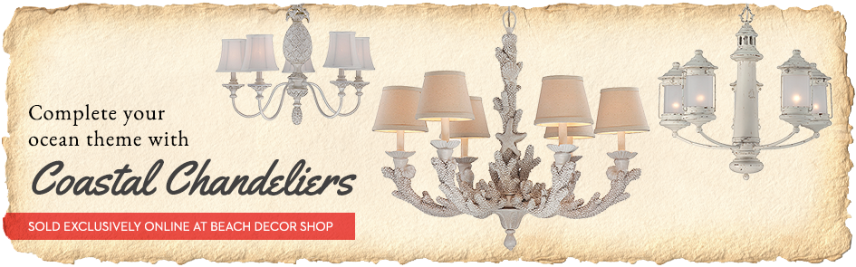 Coastal Beach Chandeliers